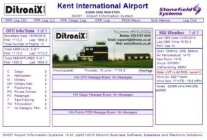 DAISY Airport Information System - FIDS Flight Information